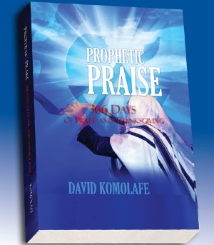 366 days of prophetic praise book image