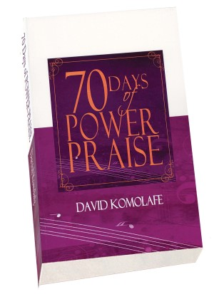 70 days of power praise book image